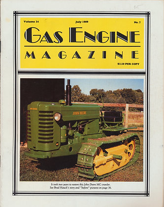 Gas Engine Mag.  July 1989