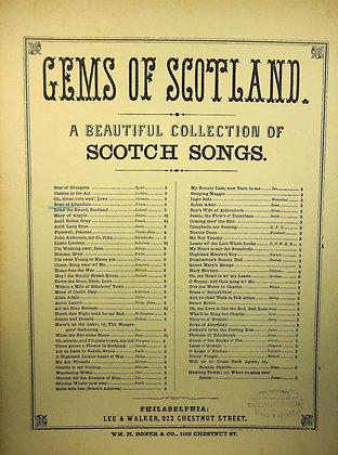 "Rose of Allandale Ballad ""Scotch Song"" (ca. 1880)"