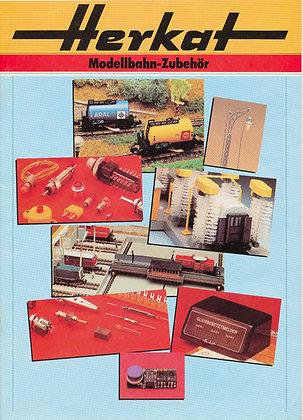 Herkat Modellbahn-Zubehor (German) catalog