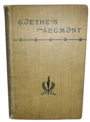Goethe's Egmont (play) by Swanwick (ca. 1900)