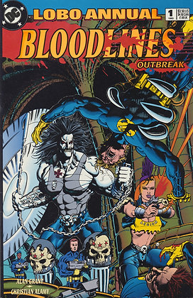 Lobo Annual, #1 Bloodlines Outbreak