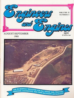 Engineers & Engines, August-Sept. 1985