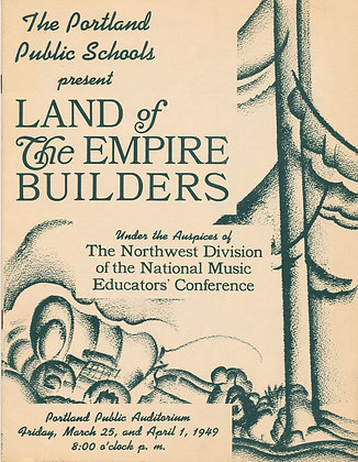 Land of Empire Builders, Portland Schools 1949 (Oregon)