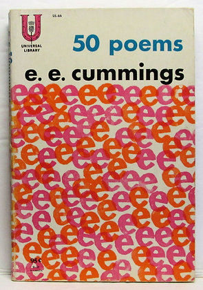 50 Poems E. E. Cummings Poetry