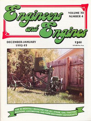 Engineers & Engines, Dec.-Jan. 1992-93