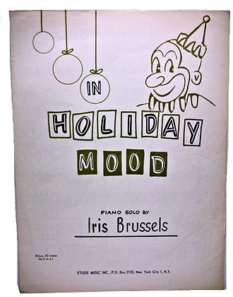 In Holiday Mood (Piano Solo) 1963