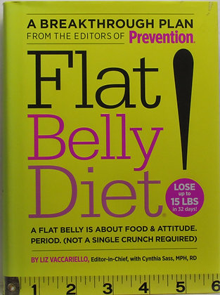 Flat Belly Diet! Cynthia Sass 2008