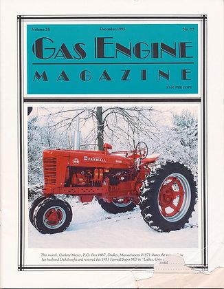 Gas Engine Mag.  December 1993