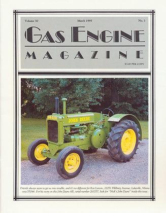 Gas Engine Mag.  March 1995