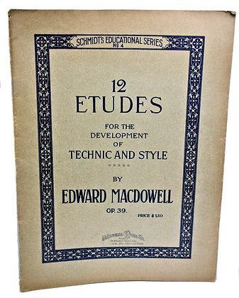 12 Etudes Technic & Style 1918