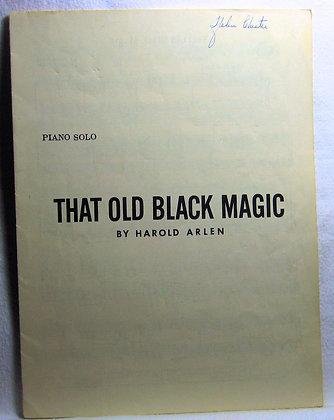 THAT OLD BLACK MAGIC (Piano Solo) 1942