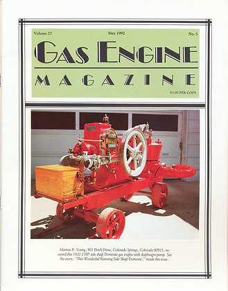 Gas Engine Mag.  May 1992