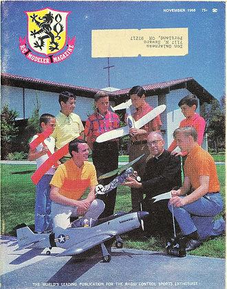 R/C Modeler (Nov. 1968) Vol. 5, No. 11