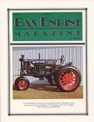 Gas Engine Mag.  December 1990