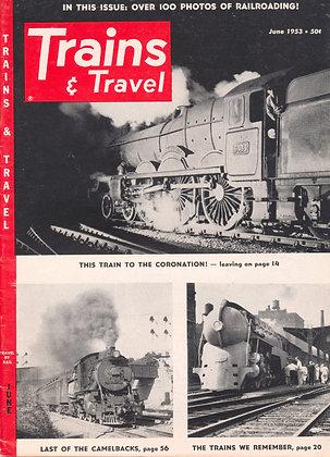 TRAINS & TRAVEL, June 1953