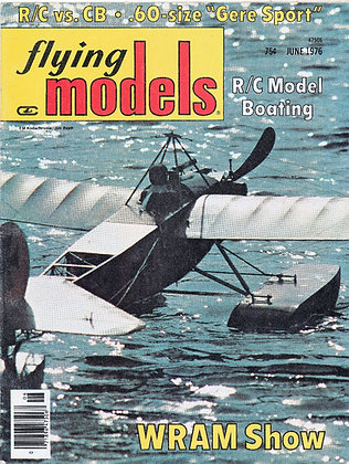 Flying Models (June 1976)