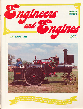 Engineers & Engines, April-May 1983