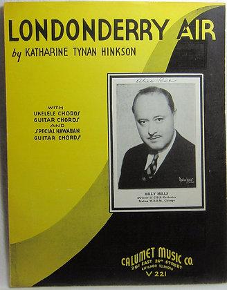 LONDONDERRY AIR 1935