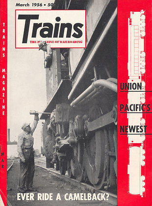 TRAINS, March 1956