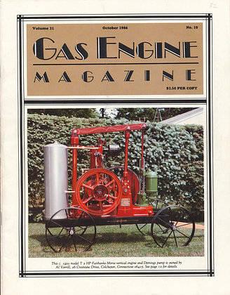 Gas Engine Mag.  October 1986