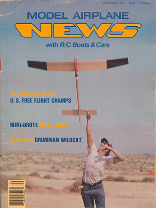 Model Airplane News September 1979
