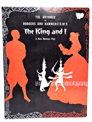 King and I - Yul Brynner (Musical Play) 1960