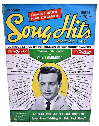 Song Hits, GUY LOMBARDO, March 1954