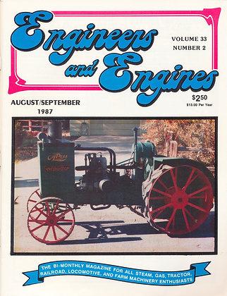 Engineers & Engines, Aug.-Sept. 1987