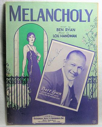 MELANCHOLY 1929