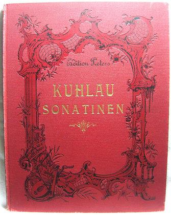 Sonatinen von FR. KUHLAU circa 1870 (sheet music book) German