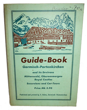 Guide-Book Garmisch-Partenkirchen (German ski resort)