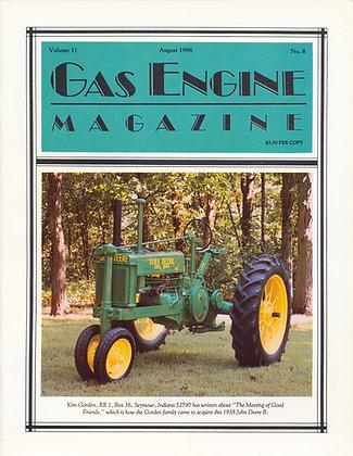 Gas Engine Mag.  August 1996