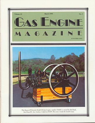 Gas Engine Mag.  March 1994