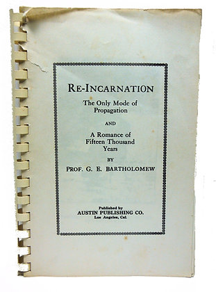 RE-INCARNATION: The Only Mode of Propagation