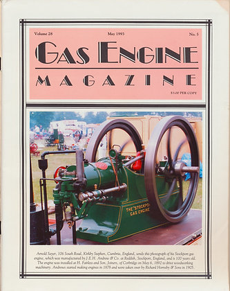 Gas Engine Mag.  May 1993