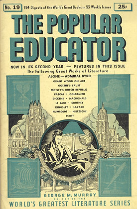 POPULAR EDUCATOR (#19, Second Year, 1939) ALONE - ADMIRAL BYRD
