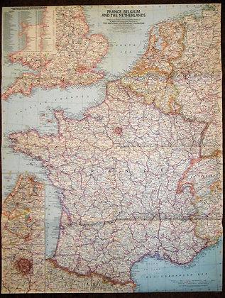 France Belgium Netherlands 1960