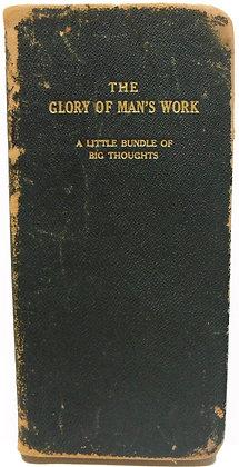 Glory of Man's Work (poetry) circa 1880
