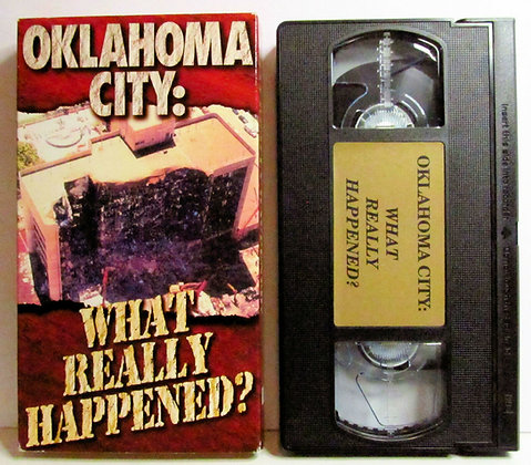 Oklahoma City: WHAT REALLY HAPPENED? 1995 VHS
