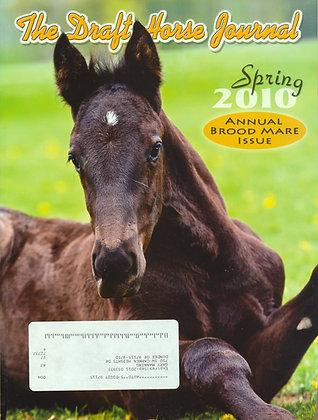 Draft Horse Journal Spring 2010
