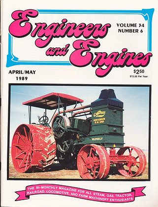 Engineers & Engines, April-May 1989
