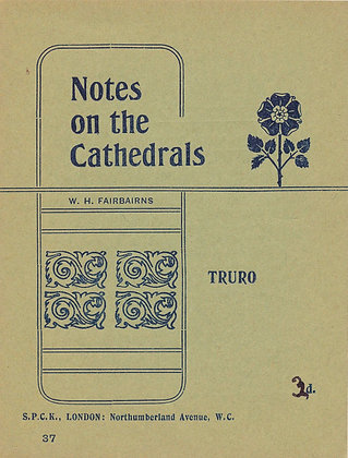 Notes on the Cathedrals Truro London