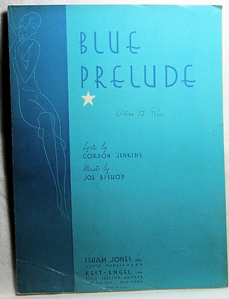 BLUE PRELUDE GORDON JENKINS 1933