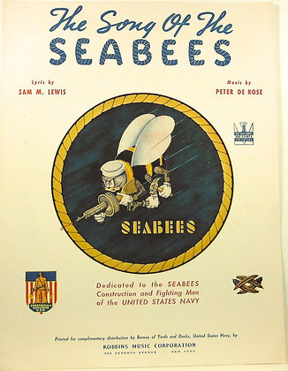 The Song of The Seabees (U.S. Navy) 1942