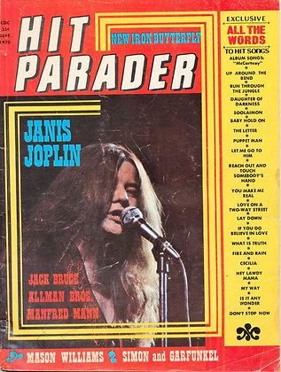 Hit Parader, Sept. 1970, JANIS JOPLIN