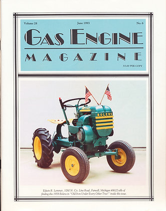 Gas Engine Mag.  June 1993