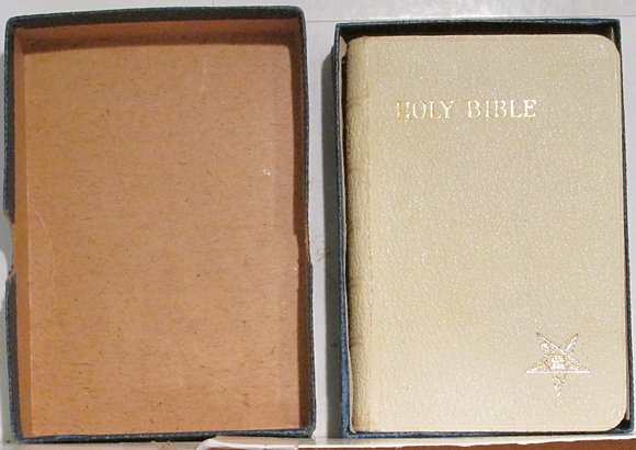 Holy Bible Order of the Eastern Star 1942