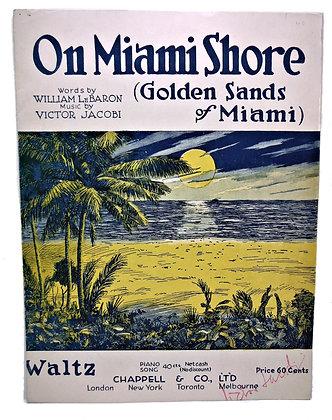 On Miami Shore (Golden Sands of Miami) 1919