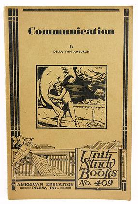 Communication (No. 409) 1934