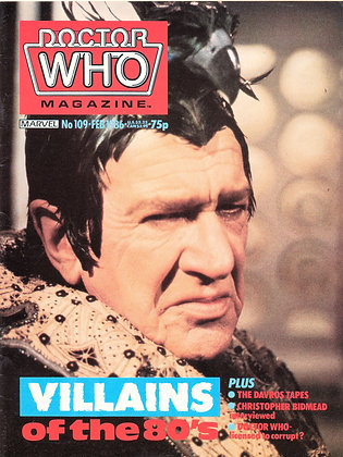 Doctor Who February 1986 British Television
